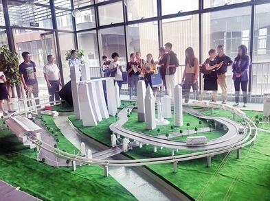 首个3D打印智能化城市沙盘亮相九龙坡
