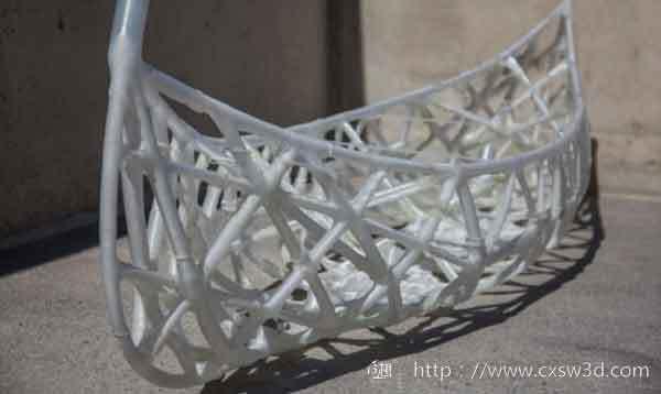 3D打印混凝土独木舟