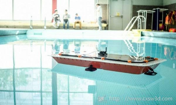 3D打印的自动驾驶船
