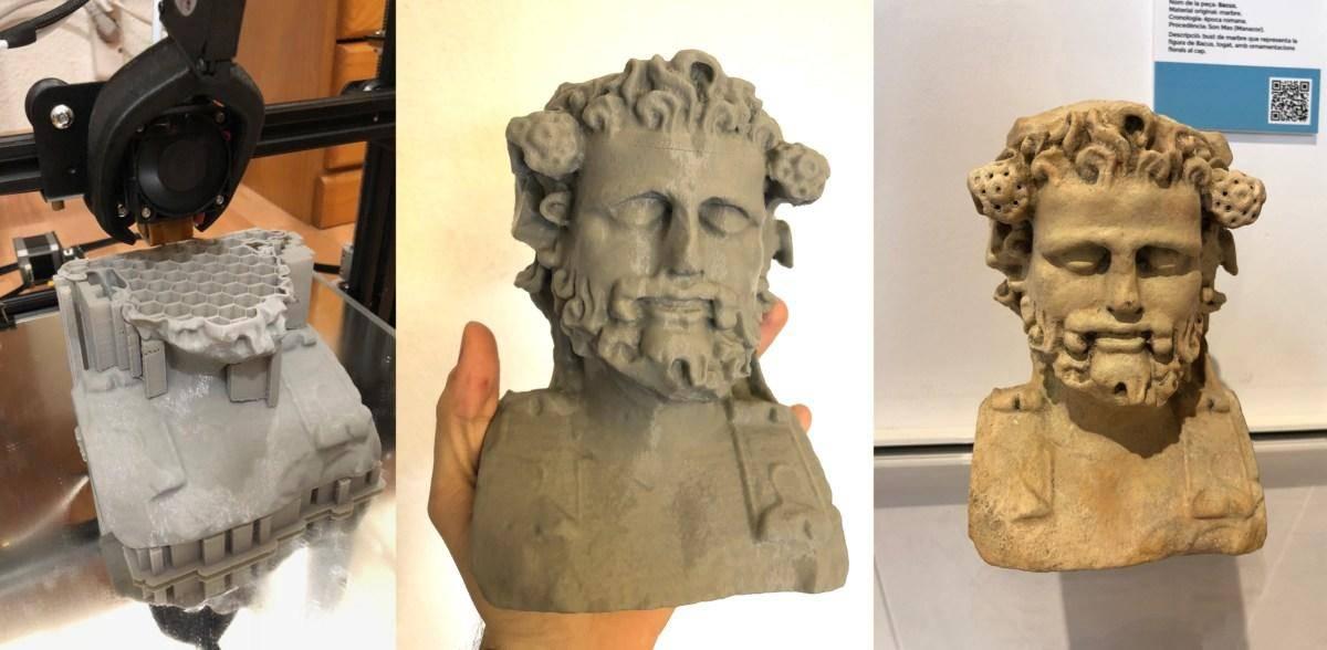 3D打印复制文物 让游客零距离接触历史