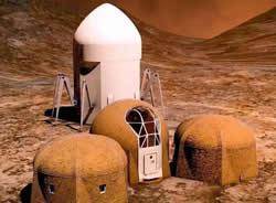 有了3D打印  未来说不定还可以去火星度个假