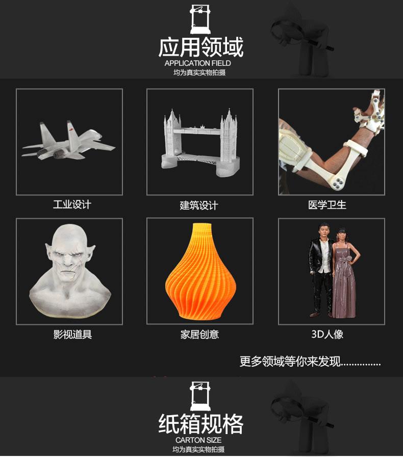 3D打印机应用领域