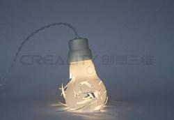 创想三维:3D打印机制造光感护眼台灯