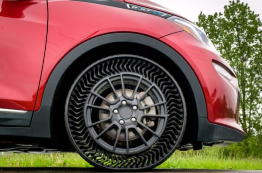 米其林联合通用汽车公司开发新型3D打印可持续轮胎