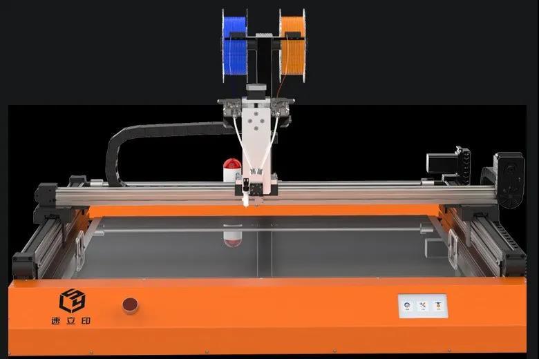 全新K8工业级发光字3D打印机将开启广告发光字领域新商机