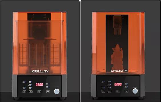 UW-01清洗固化一体机,让3D打印模型后处理简单到极致