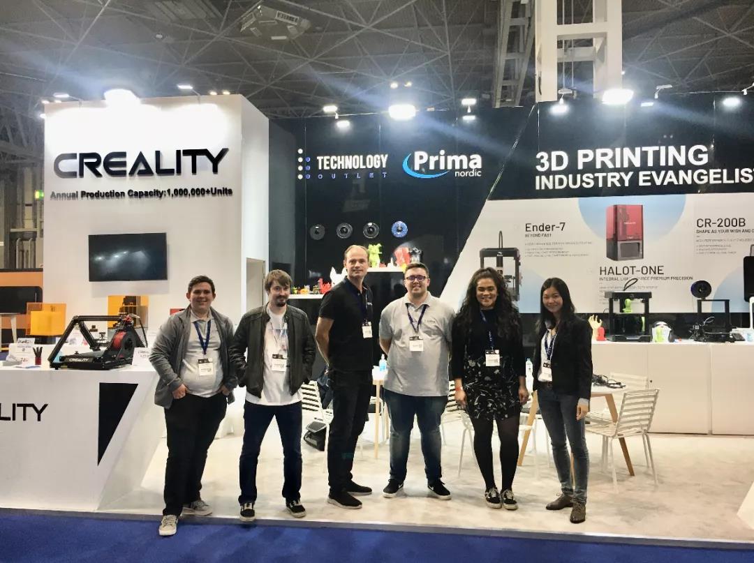 展会回顾 | 创想三维携数款3D打印机在海外展会中大放异彩