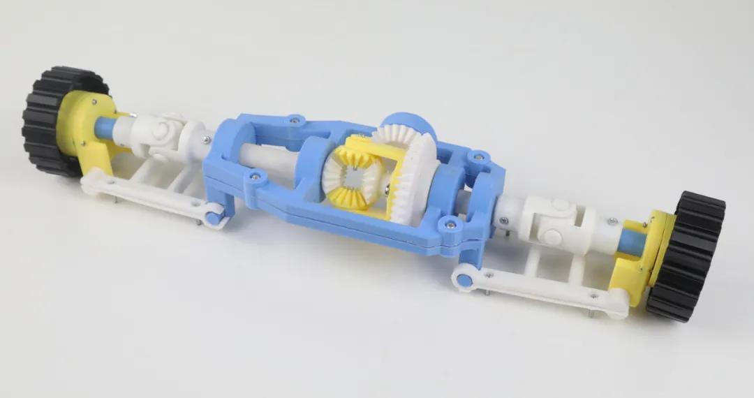 创想3D打印社团 用3D打印教具,完美解决传统教学痛点